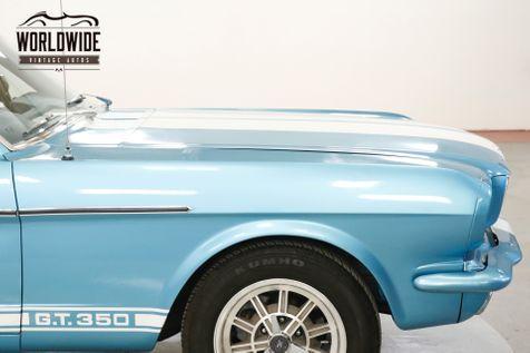1965 Ford MUSTANG FASTBACK V8. 5-SPEED GT 350 CLONE 4-WHEEL DISC | Denver, CO | Worldwide Vintage Autos in Denver, CO