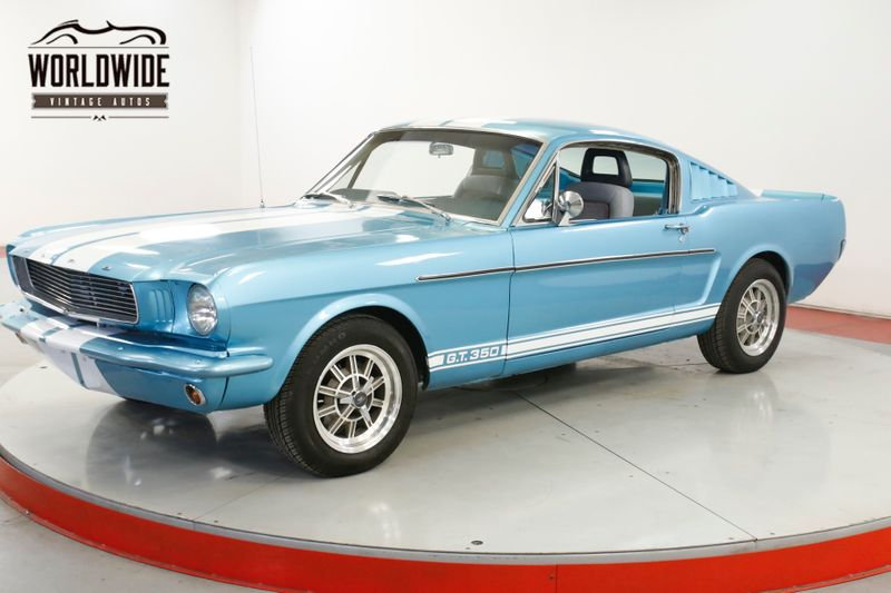 1965 Ford MUSTANG FASTBACK V8. 5-SPEED GT 350 CLONE 4-WHEEL DISC | Denver, CO | Worldwide Vintage Autos