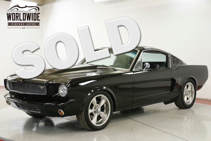 1965 Ford MUSTANG FASTBACK PRO TOURING 351 4 SPD DISC LEATHER | Denver, CO | Worldwide Vintage Autos