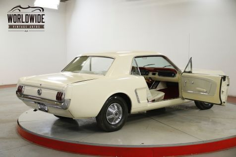 1965 Ford MUSTANG  OFF WHITE STRAIGHT 6 ORIGINAL MILES | Denver, CO | Worldwide Vintage Autos in Denver, CO