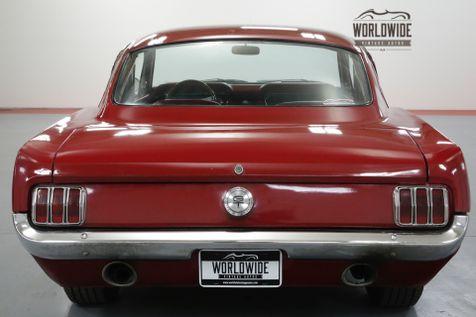 1965 Ford MUSTANG FASTBACK RESTORED. 289V8. 4-SPEED. GREAT COLOR. MUST SEE!    Denver, CO   Worldwide Vintage Autos in Denver, CO