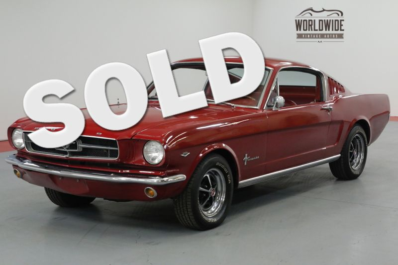 1965 Ford MUSTANG FASTBACK RESTORED. 289V8. 4-SPEED. GREAT COLOR. MUST SEE!    Denver, CO   Worldwide Vintage Autos