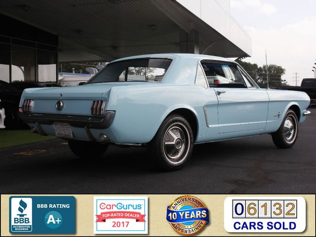 1965 Ford Mustang --: 1965 Ford Mustang  Blue Coupe 6 Automatic