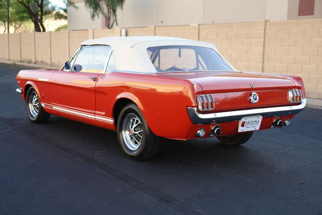 1965 Ford Mustang Convertible Factory A Code Phoenix, AZ 4