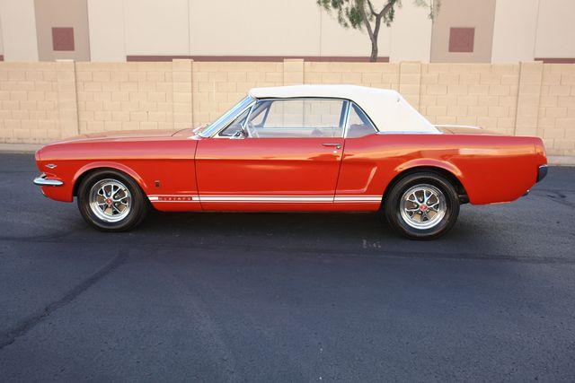 1965 Ford Mustang Convertible Factory A Code Phoenix, AZ 5