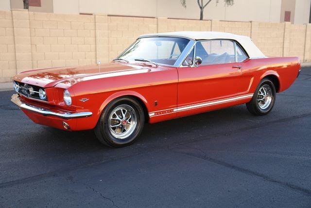 1965 Ford Mustang Convertible Factory A Code Phoenix, AZ 6