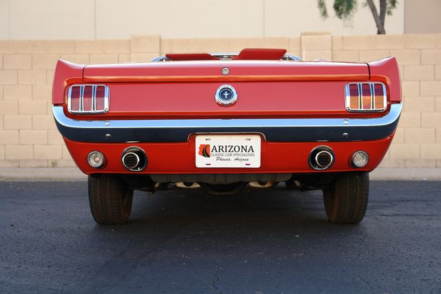 1965 Ford Mustang Convertible Factory A Code Phoenix, AZ 23
