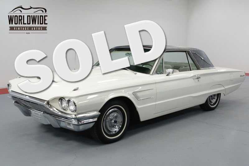 1965 Ford THUNDERBIRD SUPER CLEAN  | Denver, CO | Worldwide Vintage Autos
