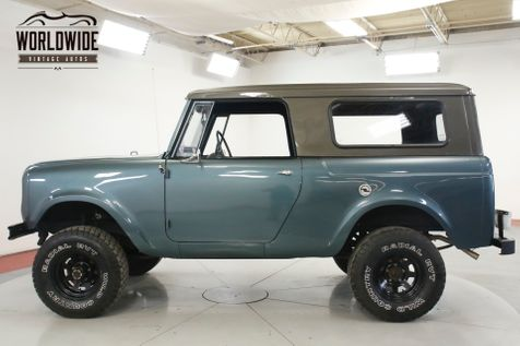 1965 International SCOUT 80 3SPD REMOVABLE TOP NEW PAINT LIFTED STANCE | Denver, CO | Worldwide Vintage Autos in Denver, CO