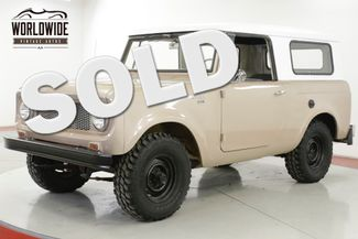 1965 International SCOUT  in Denver CO