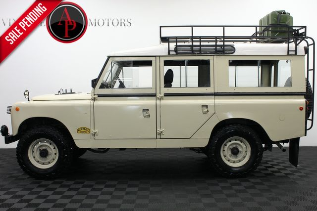 1965 Land Rover SERIES SERIES II 109 4 DOOR
