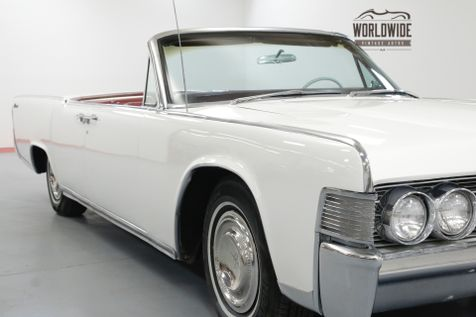 1965 Lincoln CONTINENTAL RESTORED CONVERTIBLE! AC NEW WORKING TOP | Denver, CO | Worldwide Vintage Autos in Denver, CO