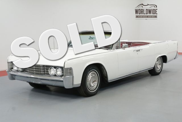 1965 Lincoln CONTINENTAL RESTORED CONVERTIBLE! AC NEW WORKING TOP | Denver, CO | Worldwide Vintage Autos in Denver CO