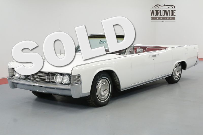 1965 Lincoln CONTINENTAL RESTORED CONVERTIBLE! AC NEW WORKING TOP | Denver, CO | Worldwide Vintage Autos