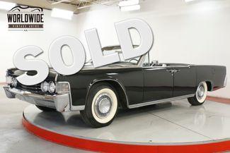 1965 Lincoln CONTINENTAL  RESTORED COLLECTOR SUICIDE DOORS 23K MILES | Denver, CO | Worldwide Vintage Autos in Denver CO