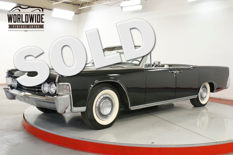 1965 Lincoln CONTINENTAL  RESTORED COLLECTOR SUICIDE DOORS 23K MILES | Denver, CO | Worldwide Vintage Autos