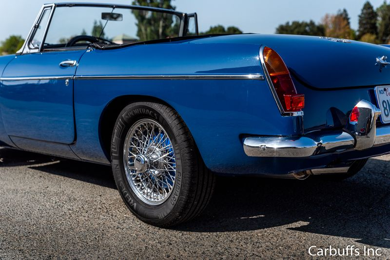 1965 Mg MGB    Concord, CA   Carbuffs in Concord, CA