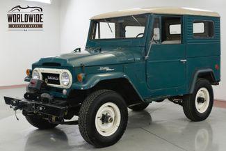 1965 Toyota LAND CRUISER FJ40 ORIGINAL PAINT 4W DISC! COLLECTOR GRADE  | Denver, CO | Worldwide Vintage Autos in Denver CO