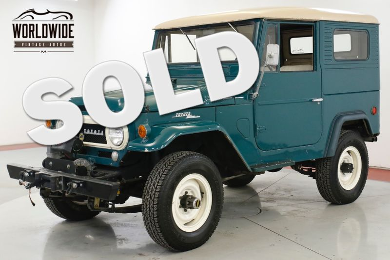 1965 Toyota LAND CRUISER FJ40 ORIGINAL PAINT 4W DISC! COLLECTOR GRADE  | Denver, CO | Worldwide Vintage Autos