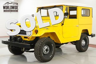 1965 Toyota LAND CRUISER FJ40 RESTORED V8 RARE HARDTOP WINCH SAFARI SEATS | Denver, CO | Worldwide Vintage Autos in Denver CO
