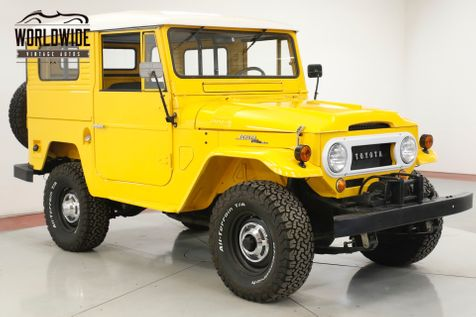 1965 Toyota LAND CRUISER FJ40 RESTORED V8 RARE HARDTOP WINCH SAFARI SEATS | Denver, CO | Worldwide Vintage Autos in Denver, CO