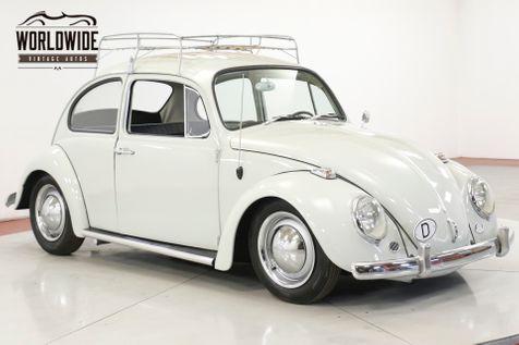 1965 Volkswagen BUG BEETLE. RESTORED. CALIFORNIA. ACCESSORIES. RACK | Denver, CO | Worldwide Vintage Autos in Denver, CO