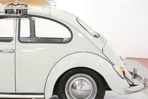 1965 Volkswagen BUG BEETLE. RESTORED. CALIFORNIA. ACCESSORIES. RACK   Denver, CO   Worldwide Vintage Autos in Denver, CO