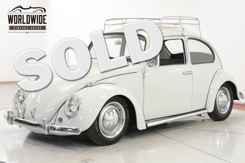 1965 Volkswagen BUG BEETLE. RESTORED. CALIFORNIA. ACCESSORIES. RACK   Denver, CO   Worldwide Vintage Autos