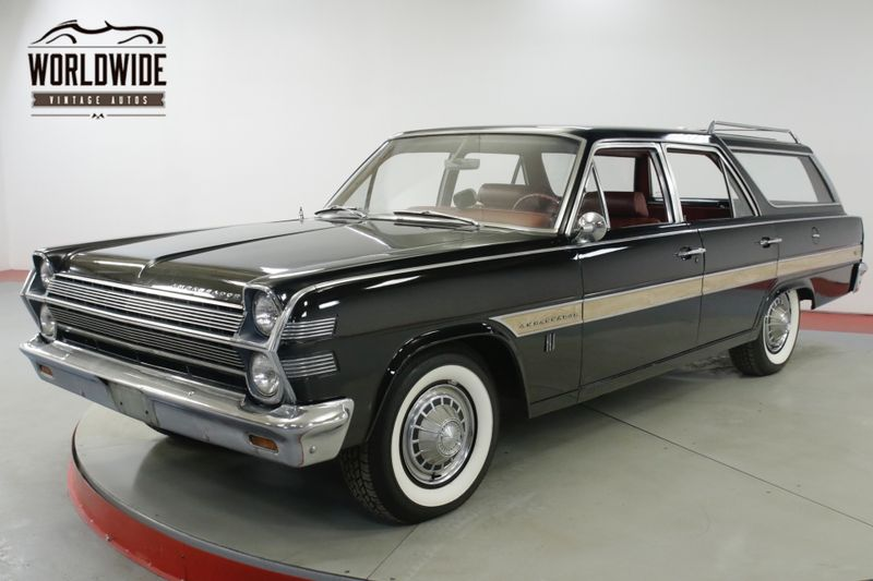 1966 Amc RAMBLER AMBASSADOR 880 STATION WAGON 1 OWNER CA  | Denver, CO | Worldwide Vintage Autos