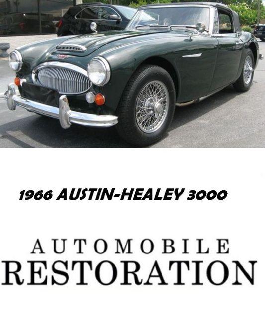 1966 Austin-Healey 3000 BJ8 Richmond, Virginia 1