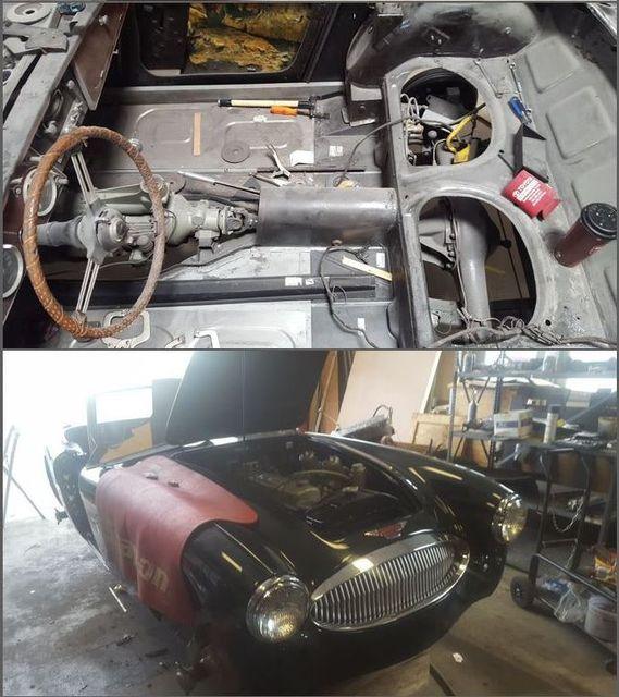 1966 Austin-Healey 3000 BJ8 in Richmond, VA, VA 23227