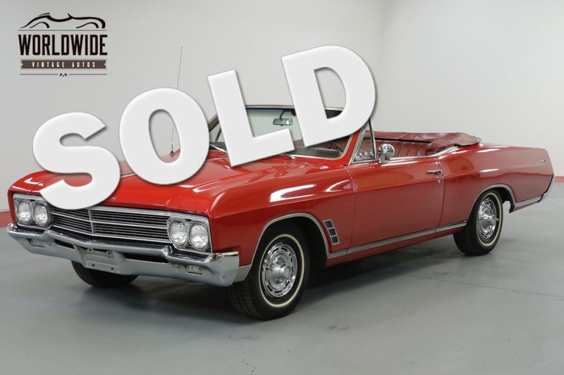 1966 Buick CONVERTIBLE RESTORED IN 2005  | Denver, CO | Worldwide Vintage Autos