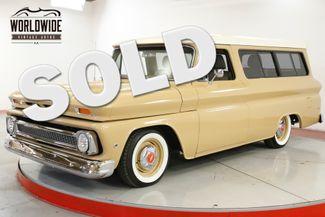 1966 Chevroelt SUBURBAN RESTORED LS ENGINE AIR BAGS AC DISC DIGITAL | Denver, CO | Worldwide Vintage Autos in Denver CO