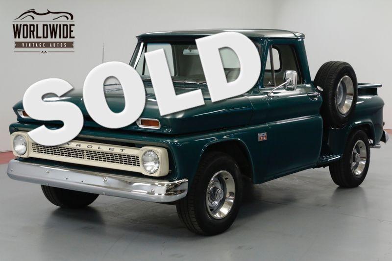 1966 Chevrolet C10 327 Engine. Rebuilt 400 Transmission  | Denver, CO | Worldwide Vintage Autos