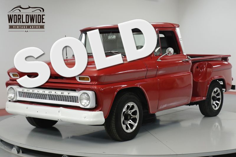 1966 Chevrolet C10  COLLECTOR GRADE NEWER REBUILD | Denver, CO | Worldwide Vintage Autos