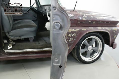 1966 Chevrolet C10  SHORT BED PS PB V8 DISC PATINA CUSTOM WHEELS | Denver, CO | Worldwide Vintage Autos in Denver, CO