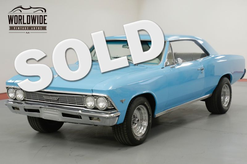 1966 Chevrolet CHEVELLE 355 CID V8 ALUMINUM HEADS 400HP TH350 AUTO  | Denver, CO | Worldwide Vintage Autos