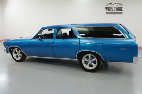 1966 Chevrolet CHEVELLE MALIBU WAGON RESTORED HOT ROD AC PS PB | Denver, CO | Worldwide Vintage Autos in Denver, CO