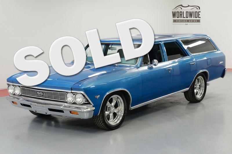 1966 Chevrolet CHEVELLE MALIBU WAGON RESTORED HOT ROD AC PS PB | Denver, CO | Worldwide Vintage Autos