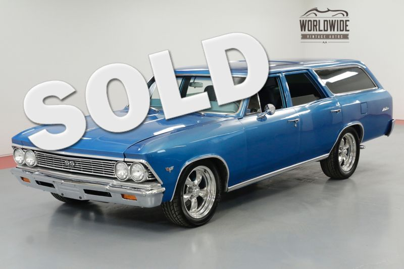 1966 Chevrolet CHEVELLE MALIBU WAGON RESTORED HOT ROD AC PS PB | Denver, CO | Worldwide Vintage Autos