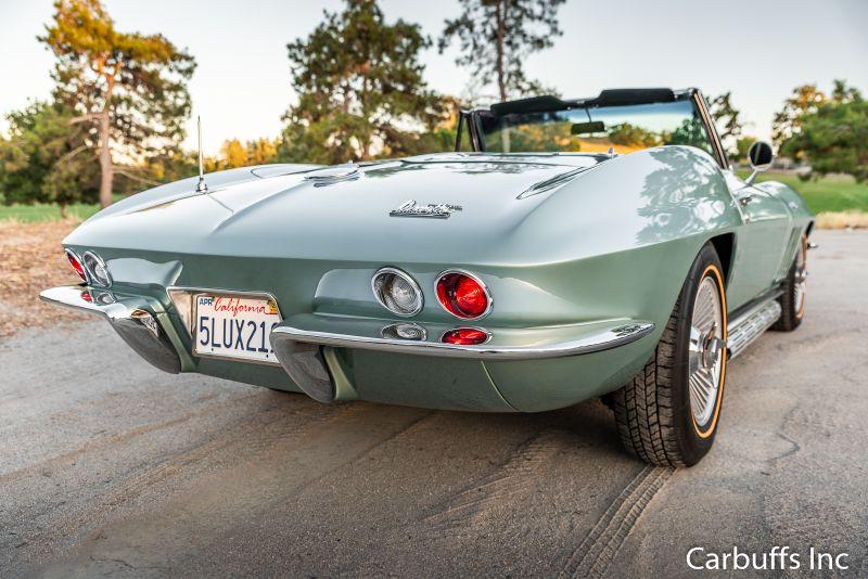 1966 Chevrolet Corvette Roadster | Concord, CA | Carbuffs in Concord, CA