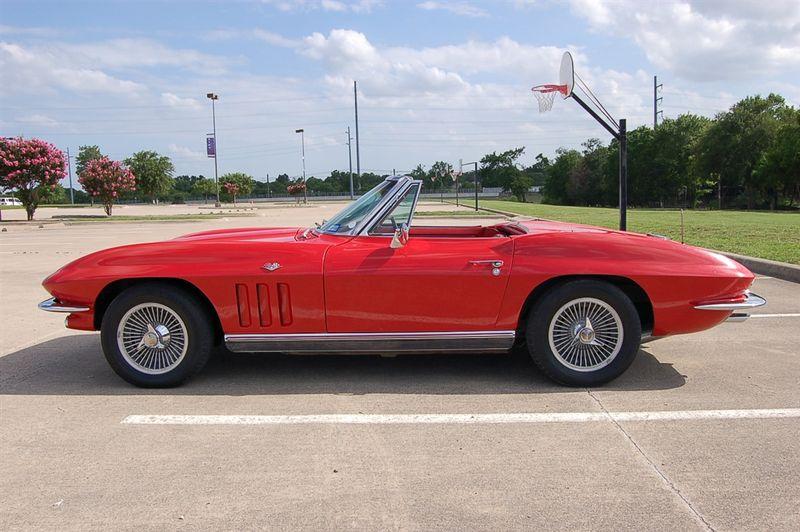 1966 Chevrolet Corvette Convertible 4 Spd, Two Tops, Factory AC in Rowlett, Texas