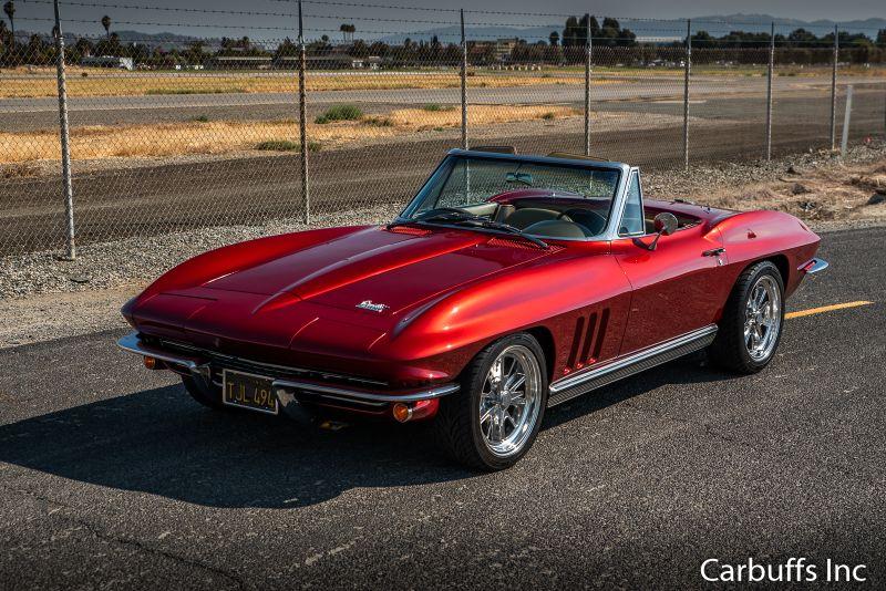 1966 Chevy Corvette Roadster | Concord, CA | Carbuffs in Concord, CA