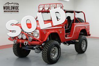 1966 Ford BRONCO RARE U13  ROADSTER $115K+ BUILD BEST OF SHOW    Denver, CO   Worldwide Vintage Autos in Denver CO