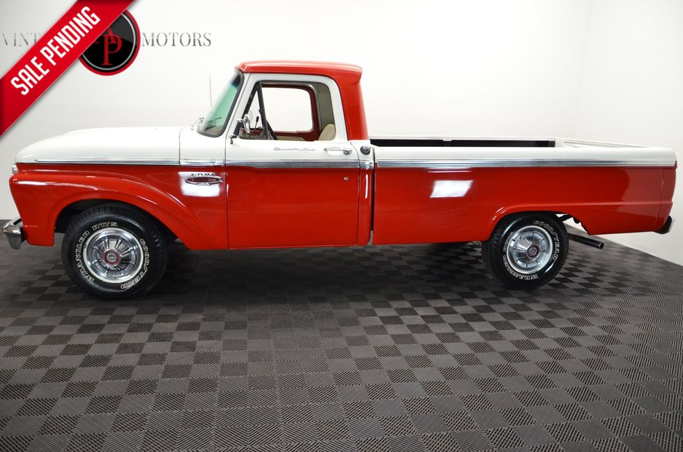 Admirable 1966 Ford F100 Dailytribune Chair Design For Home Dailytribuneorg