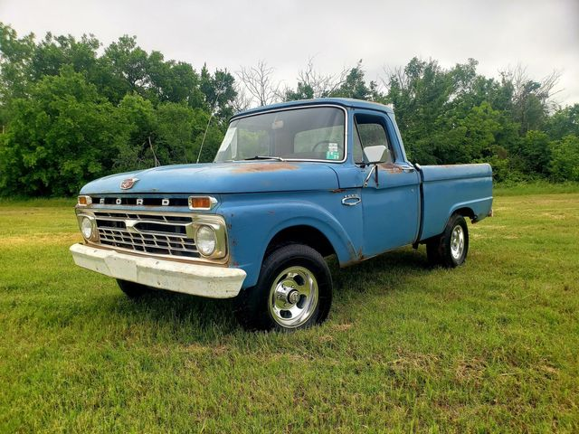 1966 Ford F100 BIG BLOCK 352 4X4 SHORT FLEET SIDE in Mustang, OK 73064