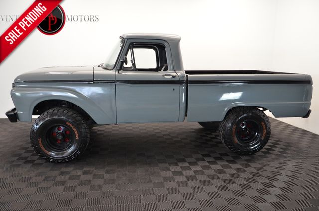 1966 Ford F100 V8 4X4 LIFTED POWER STEERING