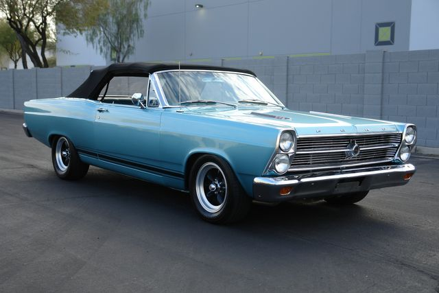 1966 Ford Fairlane S Code