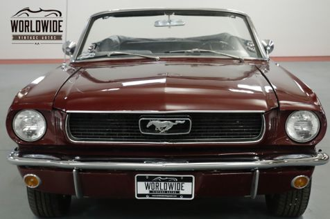 1966 Ford MUSTANG CONVERTIBLE NICELY RESTORED 289 V8. AC. DISC!   Denver, CO   Worldwide Vintage Autos in Denver, CO