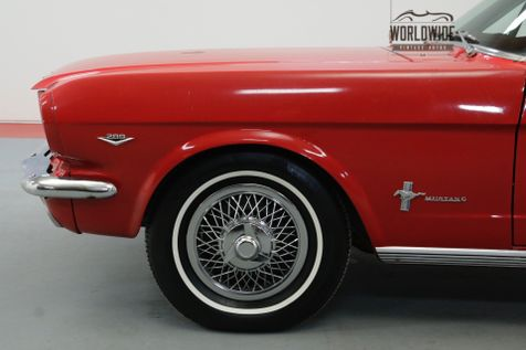 1966 Ford MUSTANG REBUILT 289 AUTO 500 MILES ON BUILD | Denver, CO | Worldwide Vintage Autos in Denver, CO